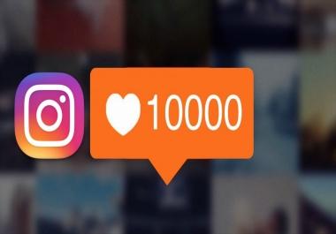 إضافة 10000 لايكات لصورك في انستجرام خلال 24 ساعة