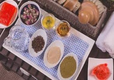 تقديم وصفات الطبخ وصفات طبيعية للجمال