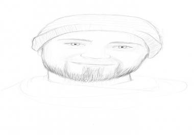 رسم صورتك رقميا بألوان او بدون الوان او تحويلها لشخصية كرتونية