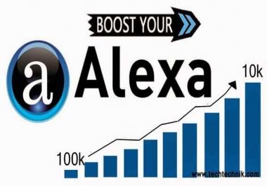 lrm;أقدم لك 50 000 زائر لموقعك لخفض ترتيب أليسكا بـ: 5$ فقط