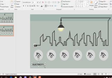 اصمم لك عرض powerpoint احترافيا و رائعا