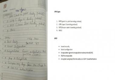 بكتابة النصوص الكتابية لل word او pdf