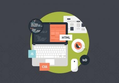 تصميم مواقع ويب متجاوبه مع جميع الشاشات