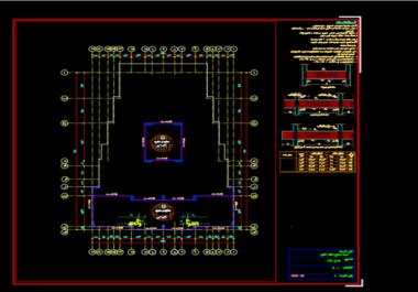 تصميم إنشائي هندسي متميز ل منزل عمارة فيلا ....  بكافة البرامج الهندسية المتطورة .