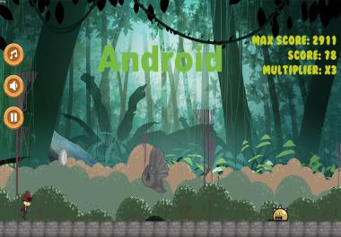 اقوم بانشاء تطبيق جديد Runner 2D Animation خاص بك لترفعه على متجر PlayStore