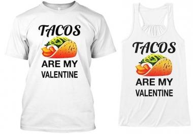 تصميم شعارين لقميص T shirt ب 5 دولار تحصل على تصميمين