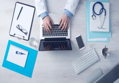 ترجمة المقالات الطبية والعلمية للطلبة والمواقع العربية من الأنجليزية إلى العربية.