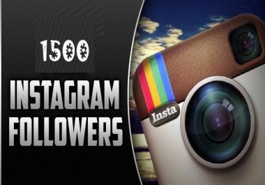 احصل على 1500 مشترك حقيقي أو أكثر على حسابك في انستغرام