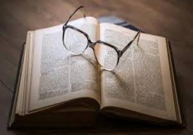كتابة أدبية لأي موضوع