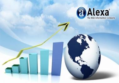 100 000 زائر حقيقى لتخفيض ترتيب موقعك في أليكسا Alexa بـ $5