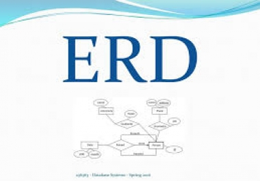 برسم Database ERD diagram