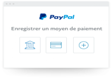 سأقوم بفتح حساب بايبال يرسل و سيتقبل الأموال مفعل