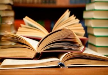 كتابة الأبحاث العلمية الخاصة بالمدرسة او الجامعة 10 صفحات 5$