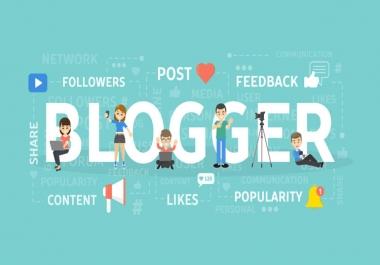 انشاء مدونة بلوقر متكاملة بالشكل الذي تريده