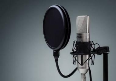 تسجيلات صوتية احترافية لأعمالك مع المعلق بن الشيخ