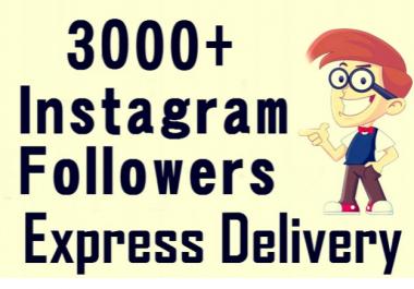 زيادة عدد متابعين الإنستجرام الي 3000  متابع مقابل 7$ فقط.