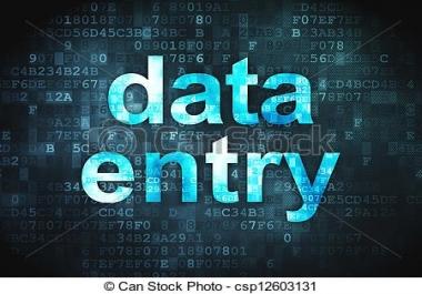 إدخال البيانات على word و excel