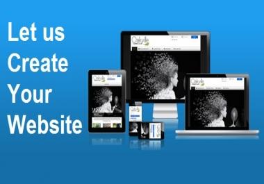 تصميم موقعك الخاص في يومين فقط