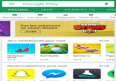 40 تقييم و تعليق حقيقي لتطبيقك في جوجل بلاي