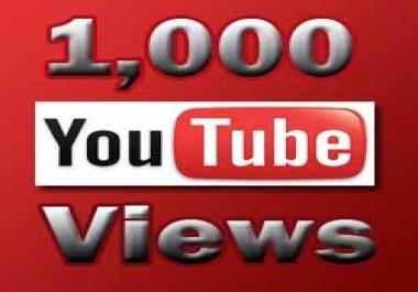 1000 مشاهدة حقيقية لفيديو اليوتيوب الخاص بك ب 5 دولار