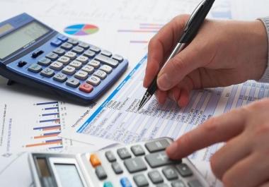 محاسب يمكنني اعداد 25 قيد محاسبي او مجموع 15.000 الف دولار ميزانية او تقرير بخمسة دولار