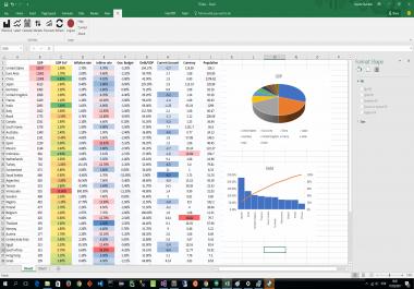 تصميم ملف Excel لانجاز مهام محدده