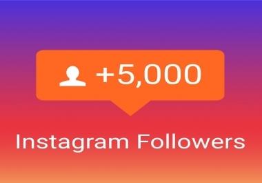 5000 متابع على الانستغرام
