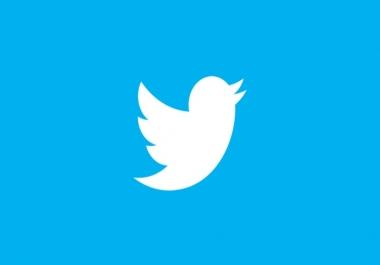 600 متابع تويتر حقيقي وسريع خلال يوم ب ٥ دولار
