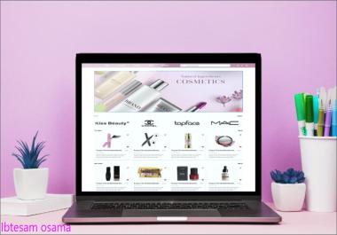 تصميم واجهة ويب احترافية UX UI Design