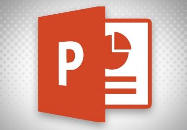 تصميم عروض تقديميه بواسطه برنامج powerpoint