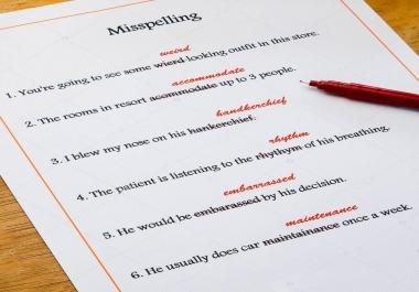 تصحيح الاخطاء اللغويه والجرامر انجليزى فقط موقع  مقال  بريد إلكتروني  محتوى تدقيق 800 كلمة