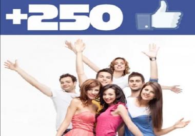 250 معجب نشيط حقيقي   لصفحتك علي الفيسبوك