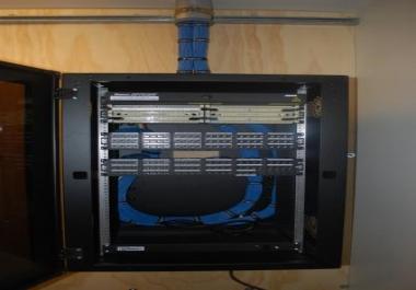 تأمين شبكات وسيرفرات