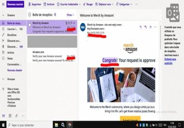 الطريقة الصحيحة للتسجيل في merch by amazon وقبول طلبك 100%