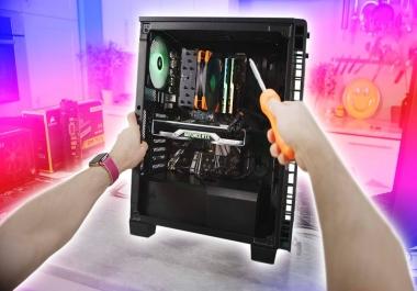 اساعدك علي تجميع كمبيوتر متوافق دون اي مشاكل باي ميزانيه