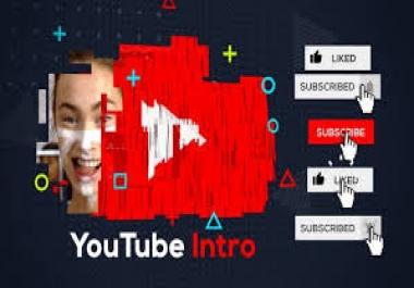 تصميم مقدمة فيديو video intro