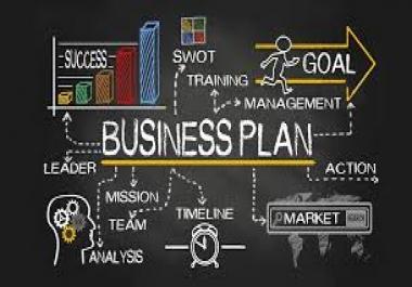 كتباه خطه للعمل Business plan