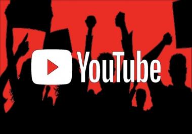 الترويج لفيديو يوتيوب بإرسال الرابط الخاص به ل300 شخص متفاعل مهتم بمحتواك