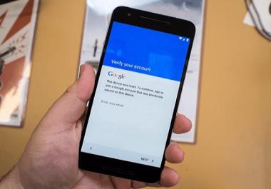 فتح وتخطي حساب Google Account على جميع الاجهزة الاندرويد