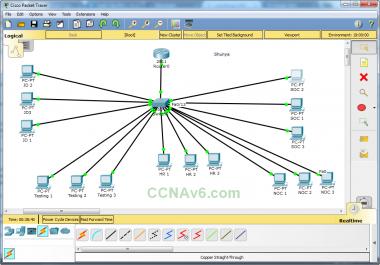 شرح مع تطبيق لأهم مواضيع CCNA