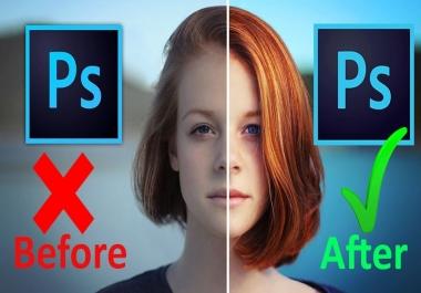 تعديل الصور بالفوتوشوب بشكل احترافي فقط ب 5$ دولار
