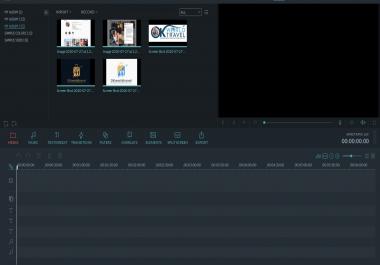 مونتاج للفيديوهات