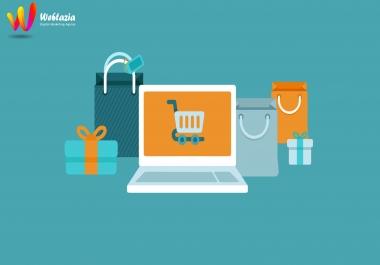 انشاء متجر الكتروني احترافي علي بلوجر