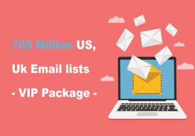 700 مليون عنوان بريد إلكتروني ويمكنك إعادة بيعها