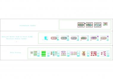 تصميم متكامل لمنشأ سكني بالإضافة لنوتة حسابية