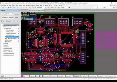 تصميم دائرتك الالكترونيه PCB design