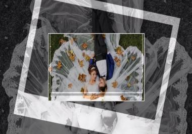 تصميم عرض شرائح slideshow بطريقة احترافية لحفل زفافك أو عيد ميلادك