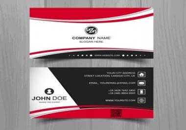 تصميم كرت عمل احترافي   Business card