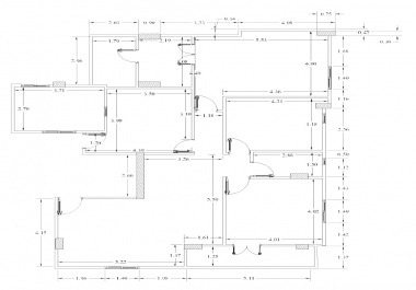 رسم المخططات المعمارية باستخدام Autocad