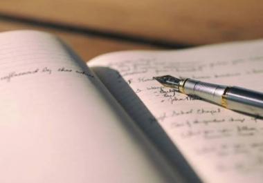 تلخيص المقالات والكتب والروايات